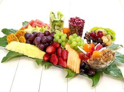 מגש פירות ריביירה+ יבשים
